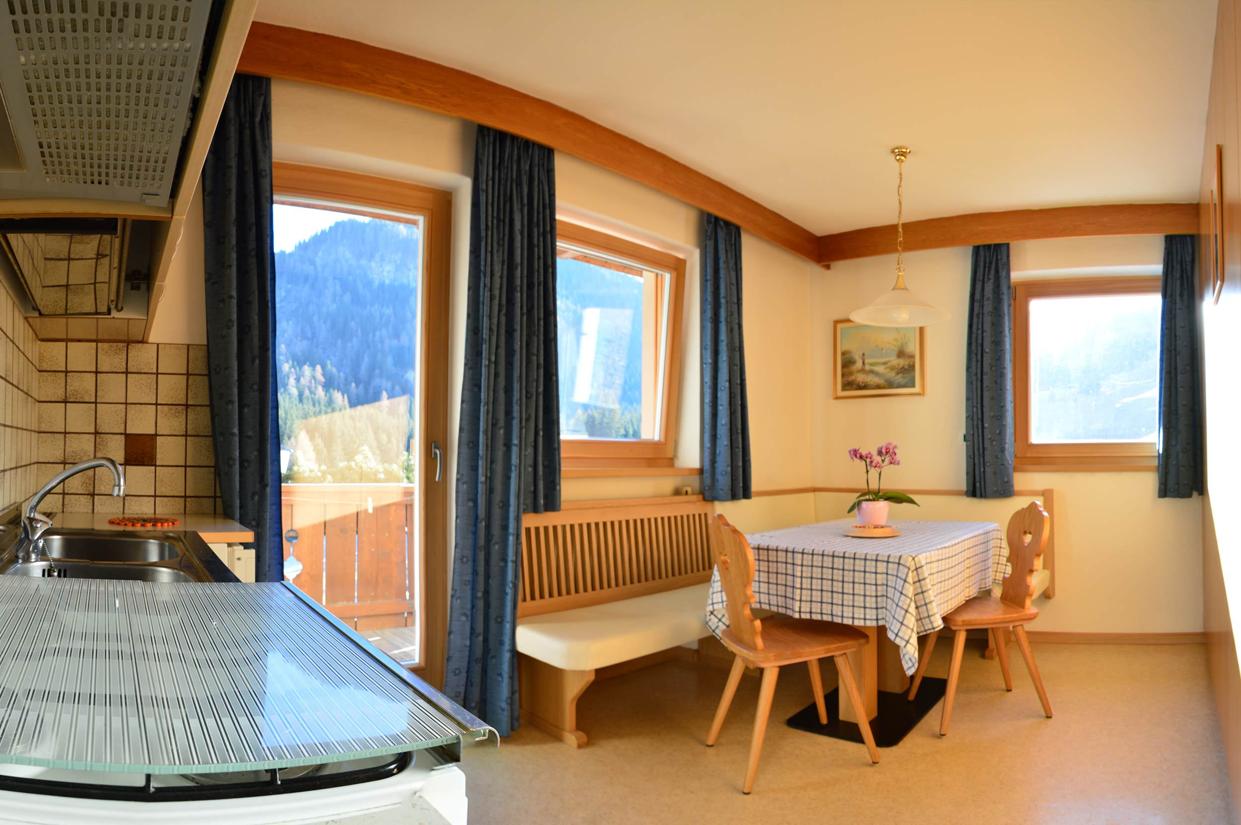 Apartment rent Alta Badia Corvara La Villa
