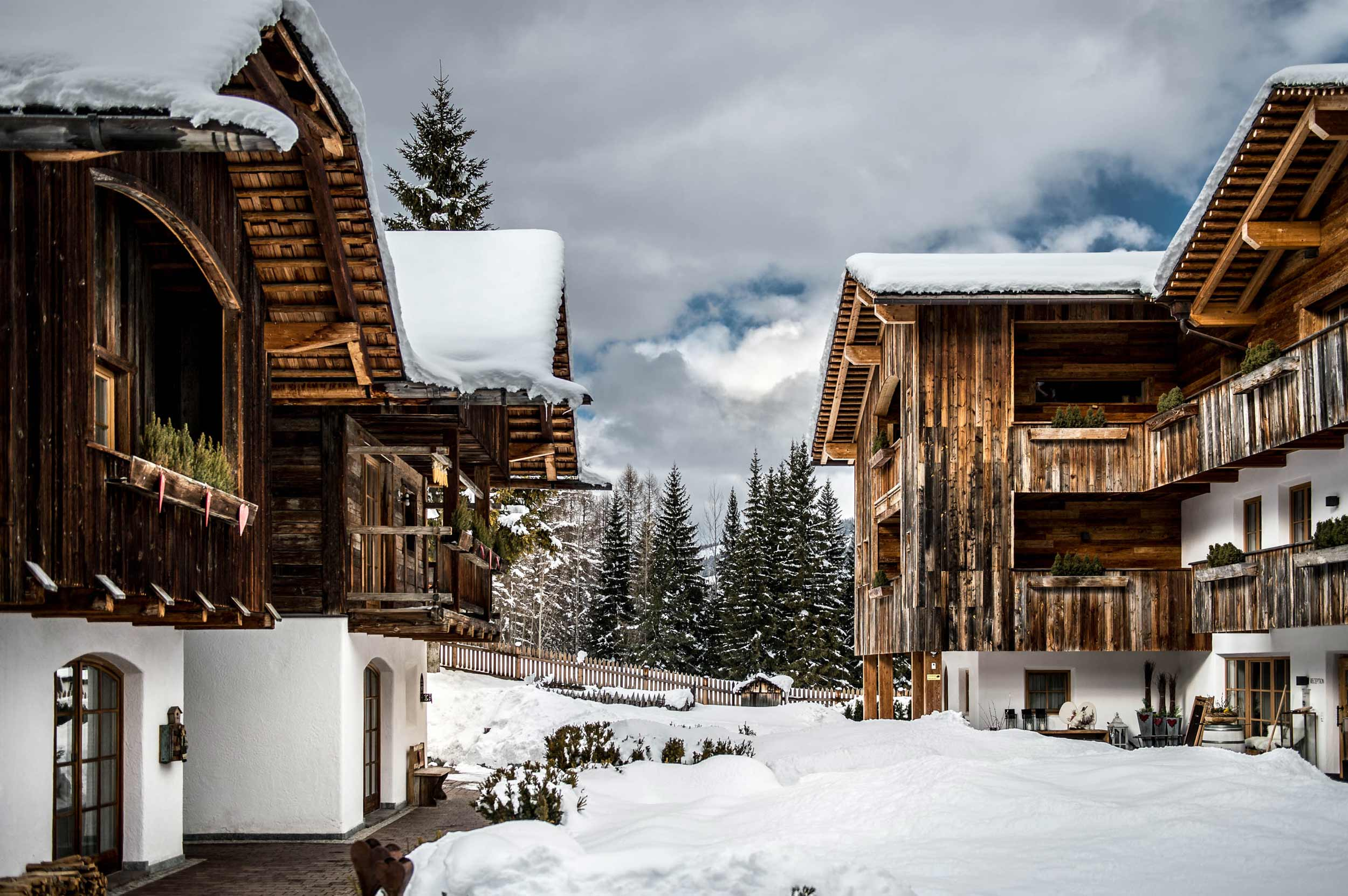 Luxury apartment alta badia