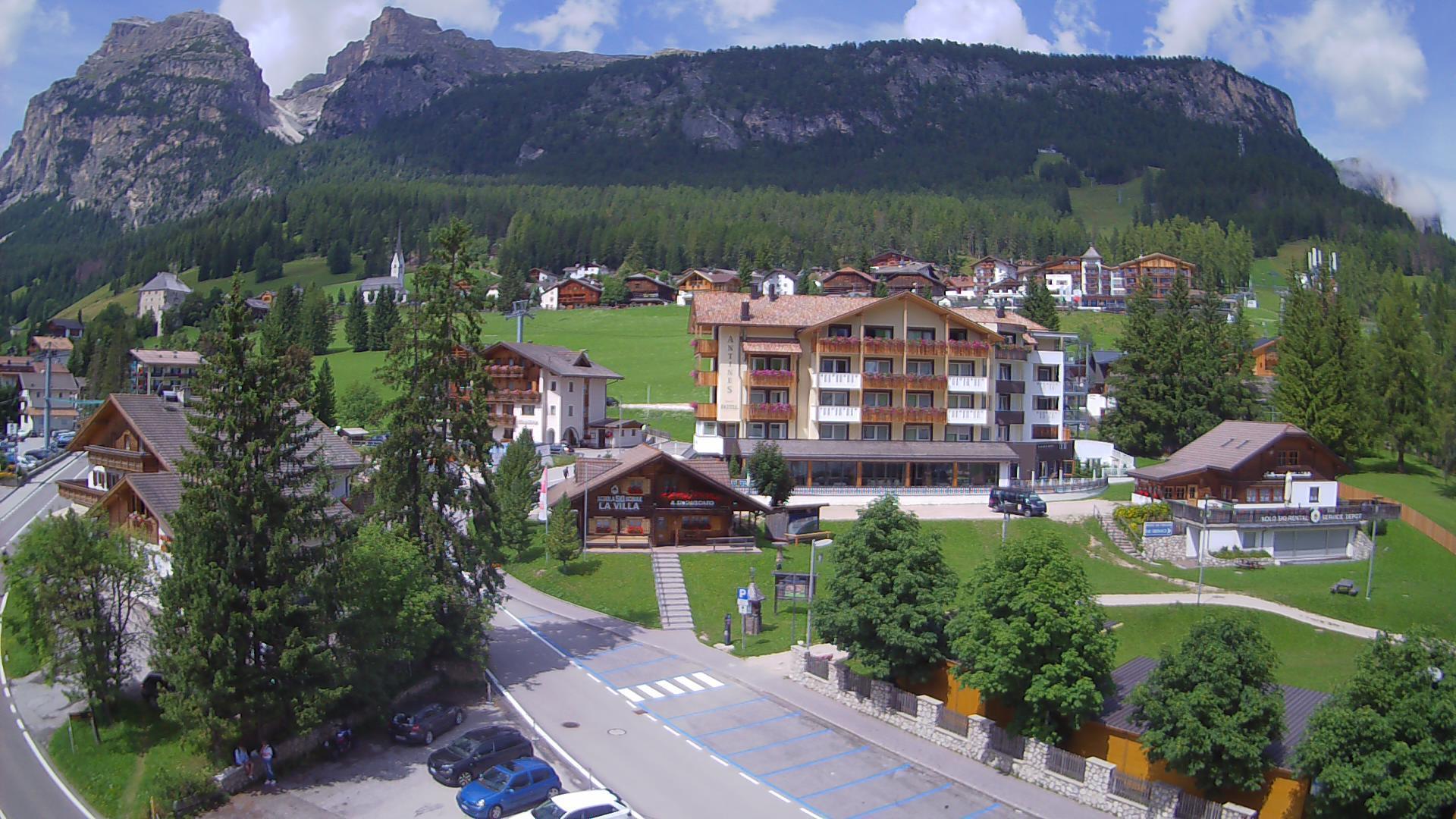 WebCam Hotel Antines La Villa ALTA BADIA - Sasso Santa Croce